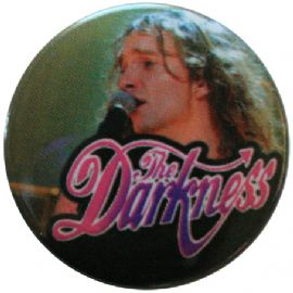 The Darkness - 'Justin Hawkins #1' Button Badge